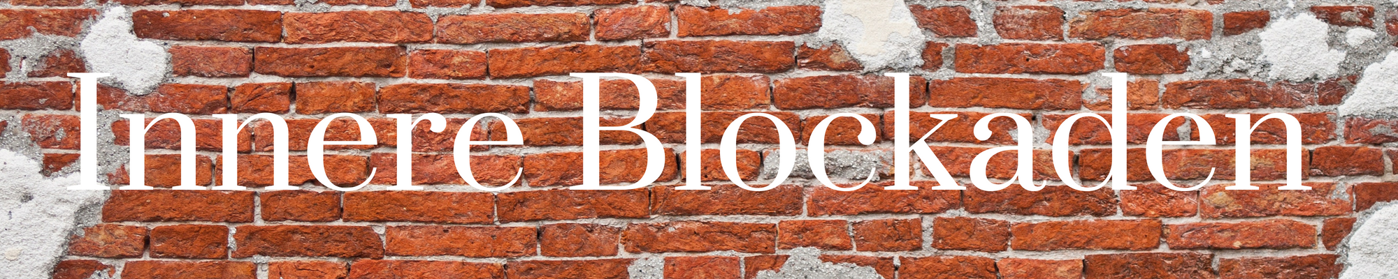 innere-blockaden