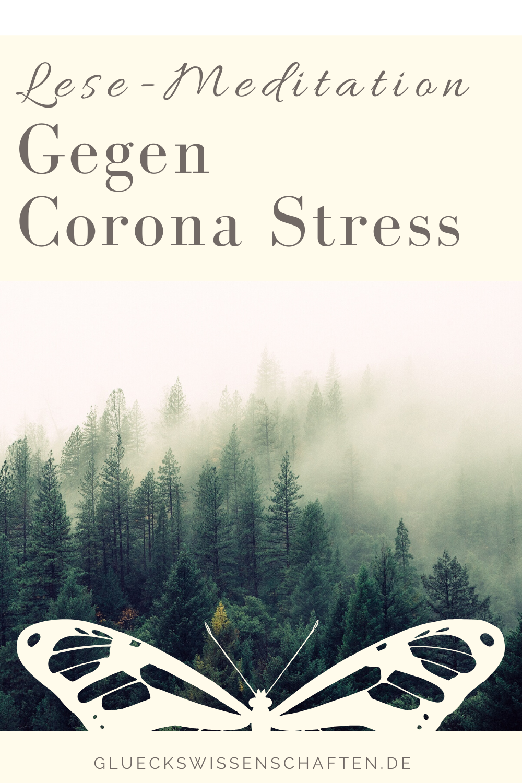 Glückswissenschaften - Lese-Meditation - Gegen Corona Stress