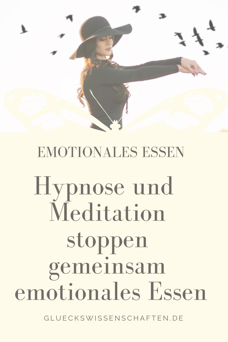Hypnose und Meditation stoppen gemeinsam emotionales Essen