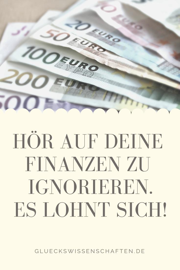 Hör Auf Deine Finanzen Zu Ignorieren