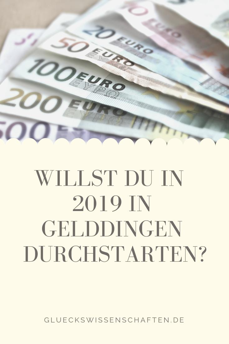 Willst Du In 2019 In Gelddingen Durchstarten