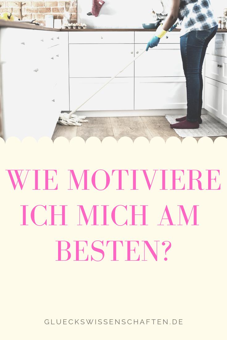 Wie motiviere ich mich am besten?
