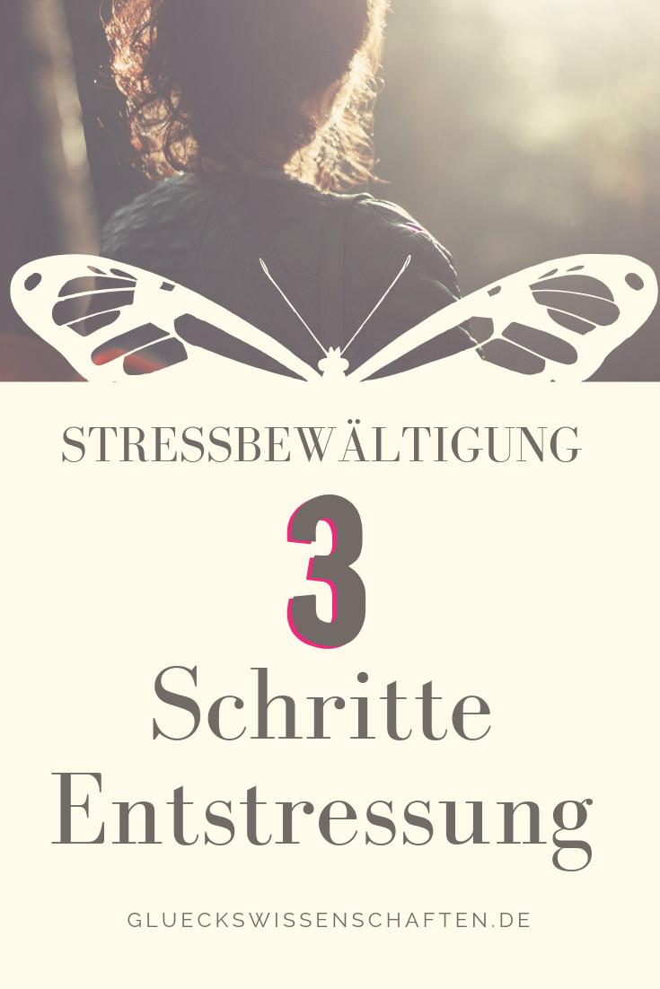 3 Schritte Entstressung