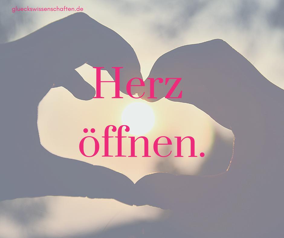 Herz öffnen