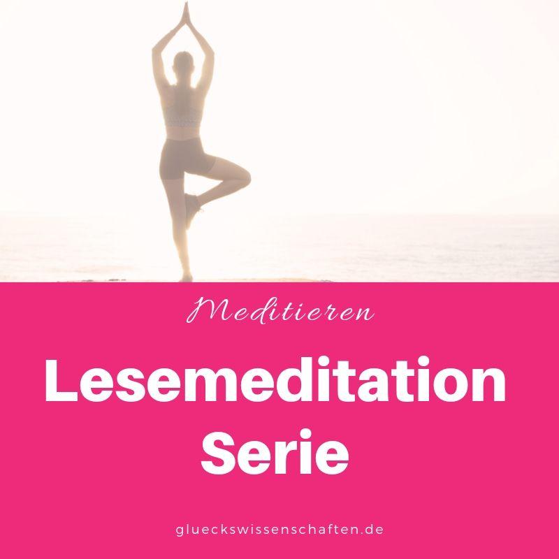 Lesemeditation Serie