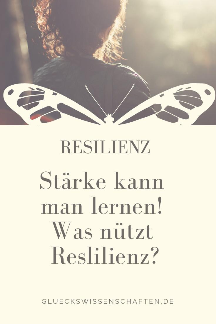 Stärke kann man lernen. Was nützt Resilienz
