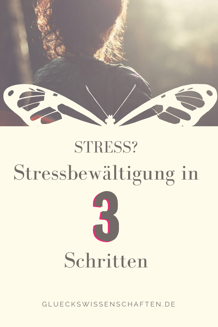 Stressbewältigung in 3 Schritten