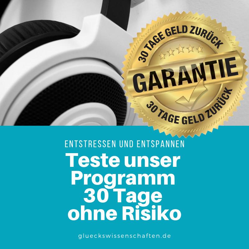 teste 30 Tage ohne Risiko
