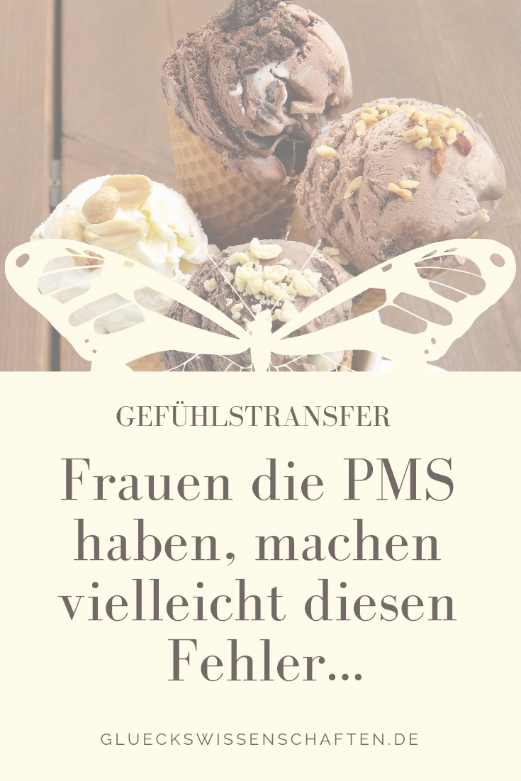 Frauen die PMS haben, machen vielleicht diesen Fehler...