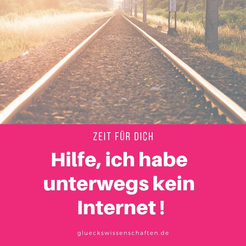 Hilfe, ich habe unterwegs kein Internet