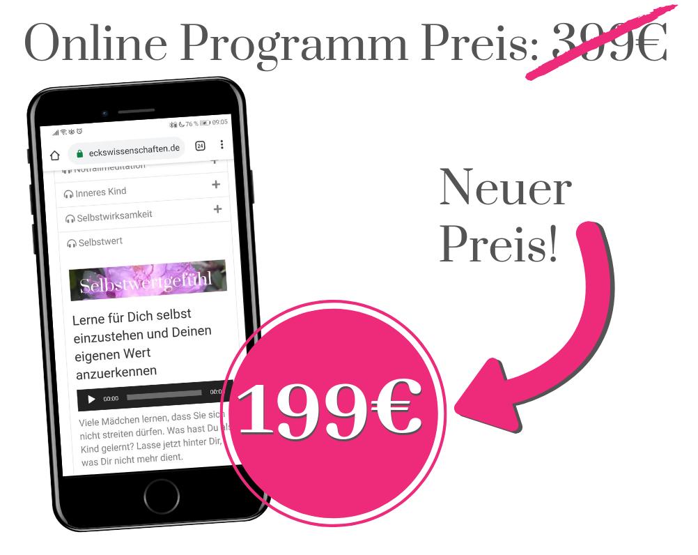 Online Programm Preis 199€
