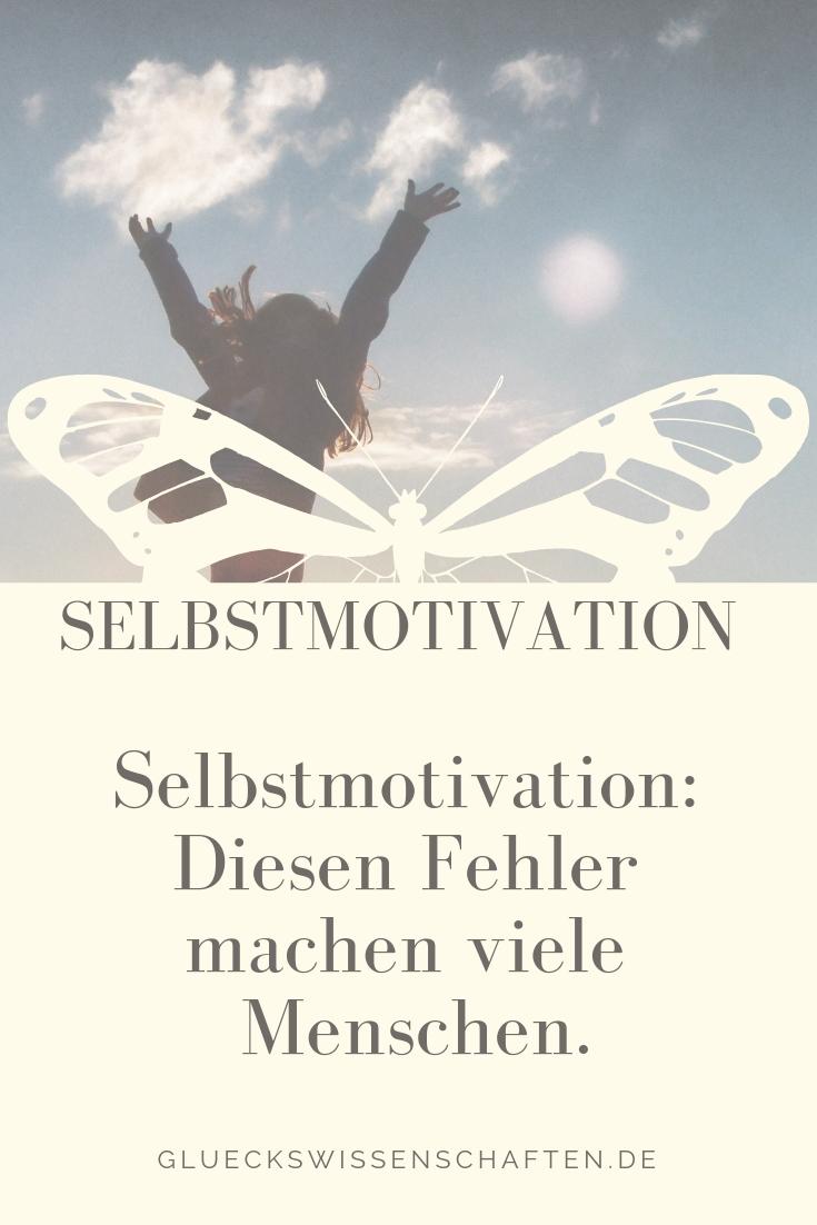Selbstmotivation: Diesen Fehler machen viele Menschen!