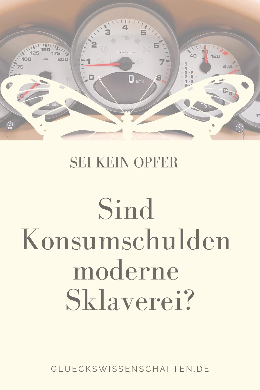 Sind Konsumschulden moderne Sklaverei?