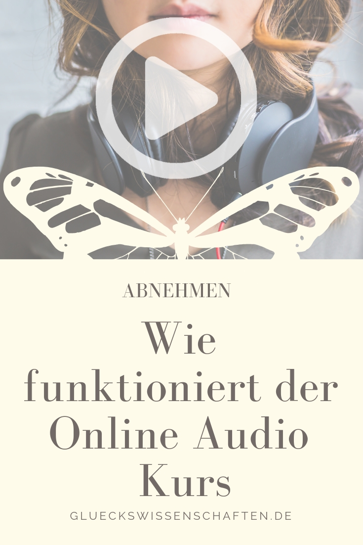 Wie funktioniert der Online Audio Kurs emotionales Essen stoppen mit Video