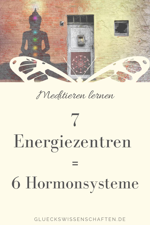 7 Energiezentren und 6 Hormonsysteme