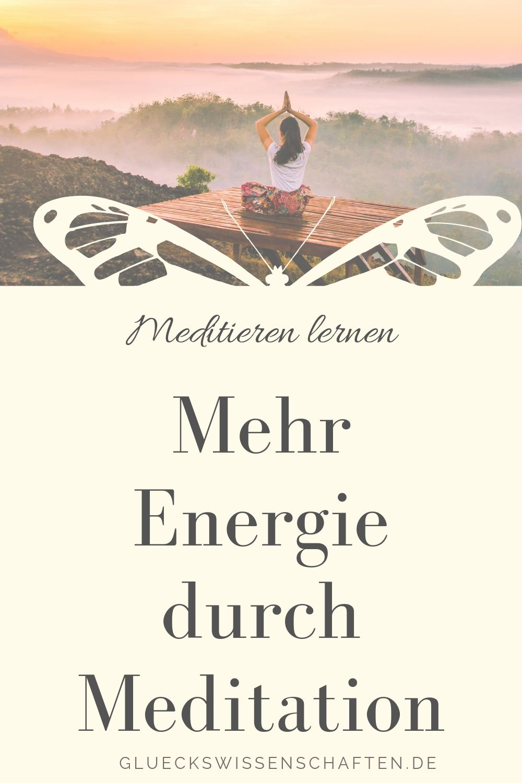Mehr Energie durch Meditation