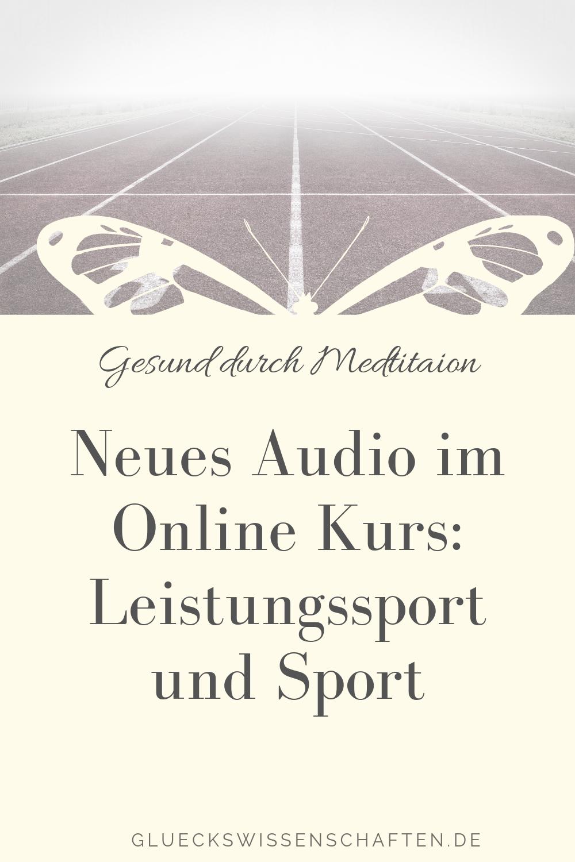 Neues Audio im Online Kurs- Leistungssport