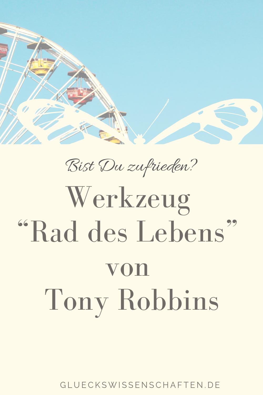 Werkzeug Rad des Lebens von Tony Robbins