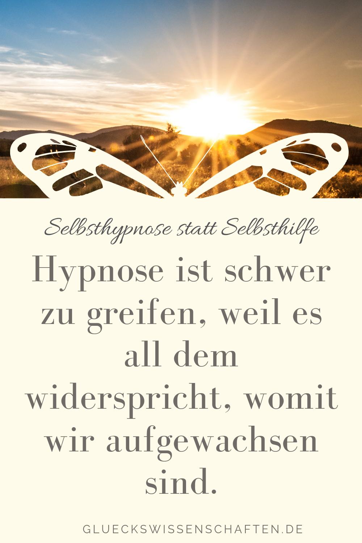 Hypnose ist schwer zu greifen und zu glauben