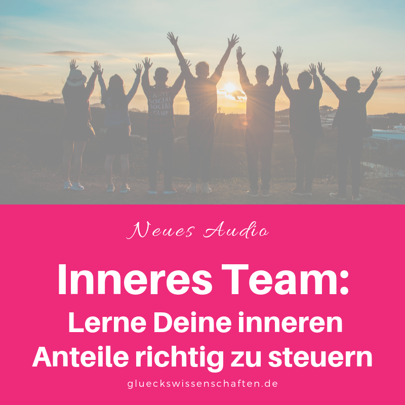 Glückswissenschaften -Inneres Team- Lerne Deine inneren Anteile richtig zu steuern- Neues Audio