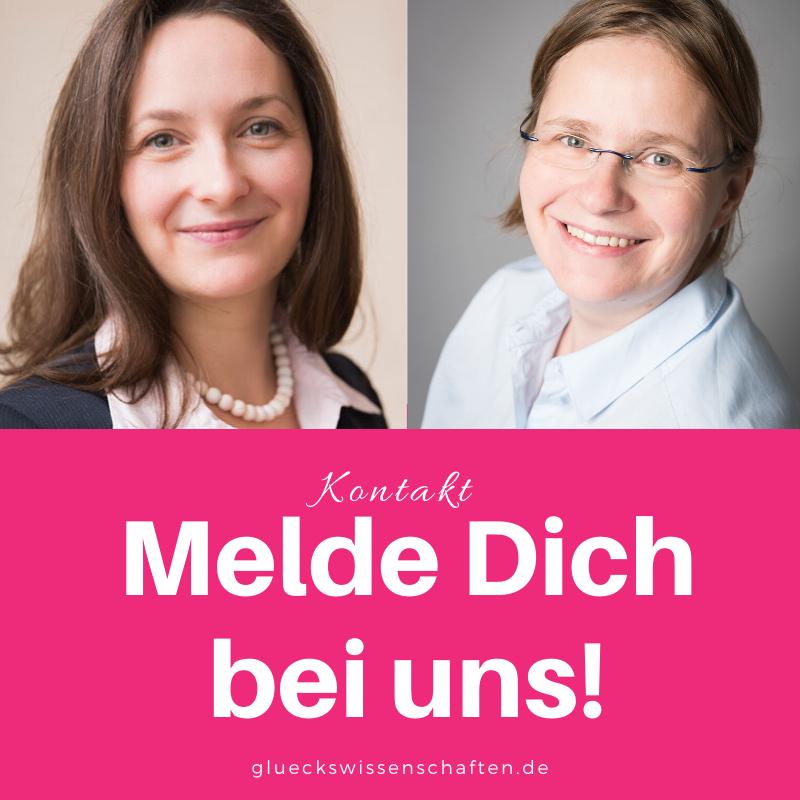 Glückswissenschaften - Kontakt mit Dr. Katrin Beckmann
