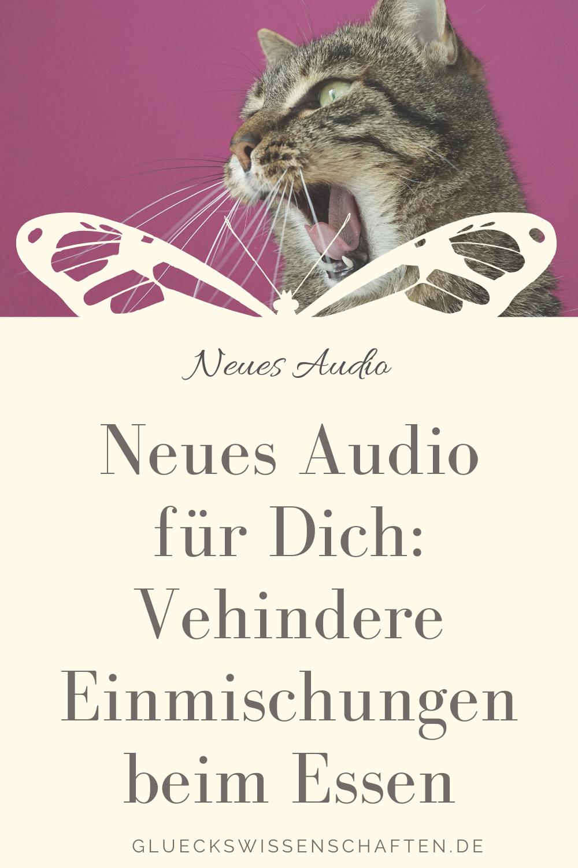 Glückswissenschaften - Neues Audio -Vehindere Einmischungen beim Essen