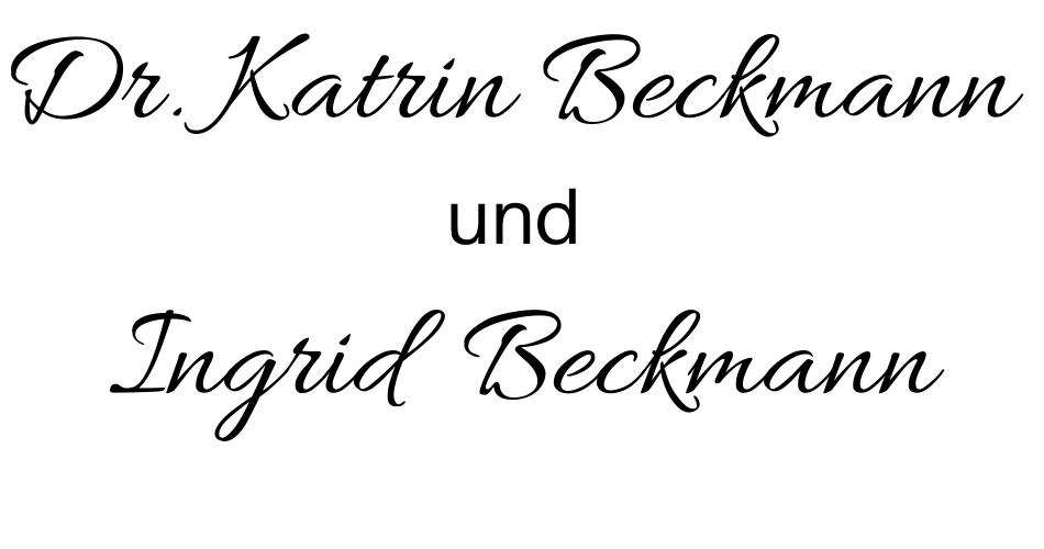 Dr. Katrin Beckmann  und Ingrid  Beckmann