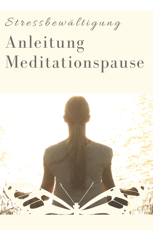 Glückswissenschaften - Stressbewältigung - Anleitung Meditationspause