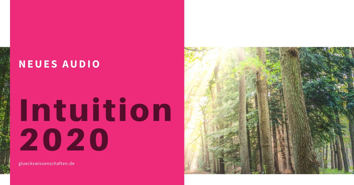 Glückswissenschaften - Neues Audio im Online Kurs - Intuition 2020