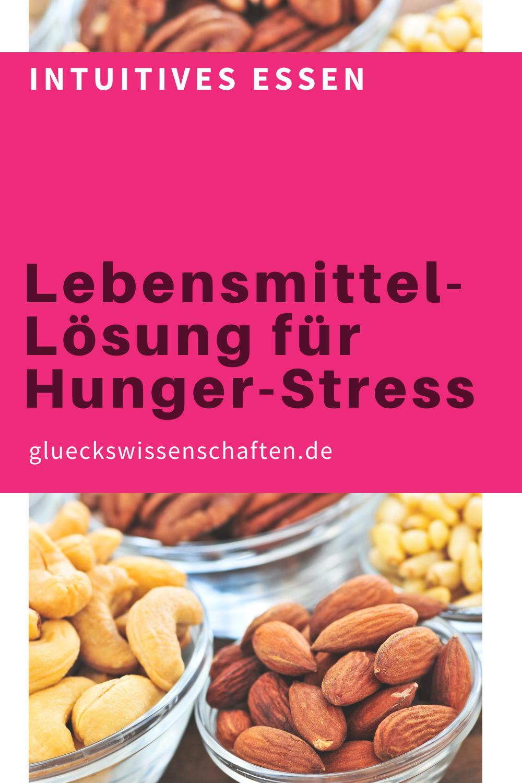 Glueckswissenschaften- Intuitives Essen - Schlaraffenland -Lebensmittel-Lösung für Hunger-Stress