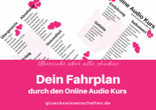 Glückswissenschaften - Online Audio Kurs Fahrplan