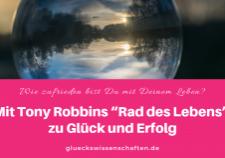 Mit Tony Robbins Rad des Lebens zu Glück und Erfolg